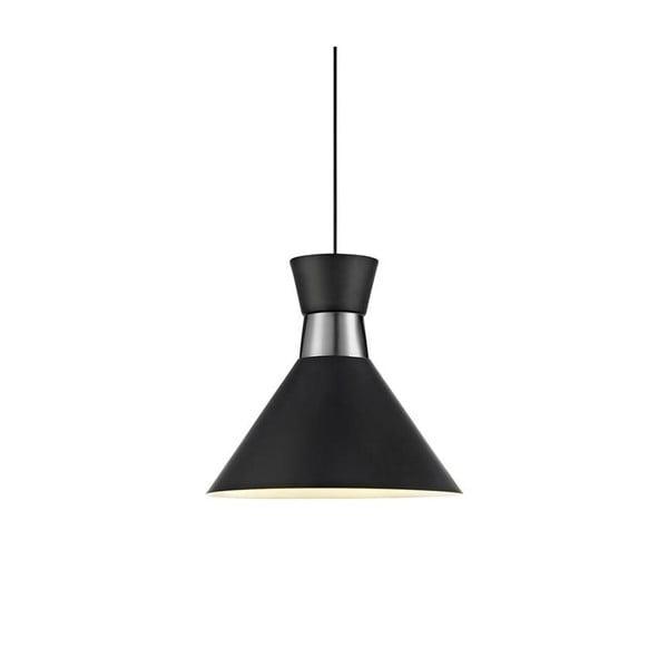 Černé stropní svítidlo Markslöjd Waist, ø 33 cm