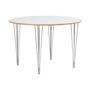 Bílý jídelní stůl Folke Alarik