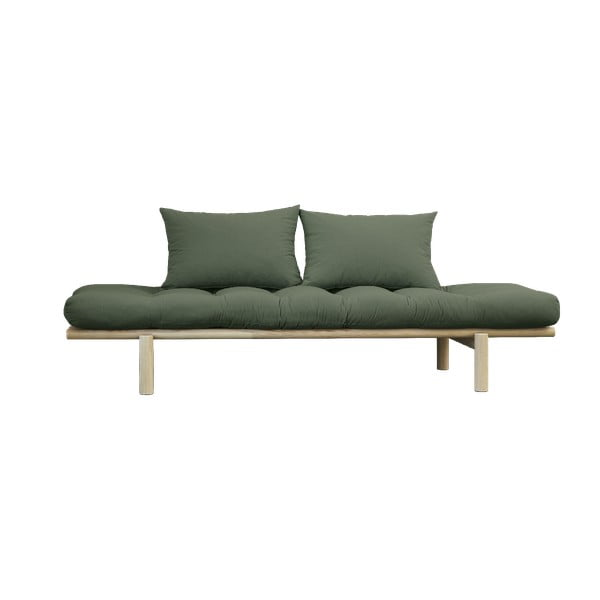 Pohovka Karup Design Pace Natural Clear/Olive Green