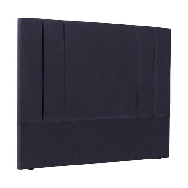 Tăblie pat Kooko Home Kasso, 120 x 140 cm, albastru închis