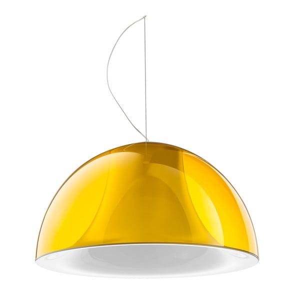 Závěsné světlo L002S/BA, transparentní žlutá