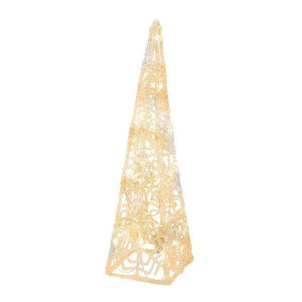 Svítící kužel Best Season Crystal Cone, 45 cm