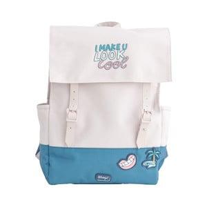 Růžovo-modrý batoh Mr. Wonderful U Look Cool