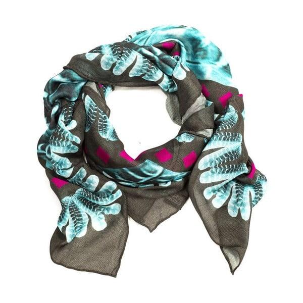 Vlněný šátek s kašmírem Mimmi, 130x130 cm