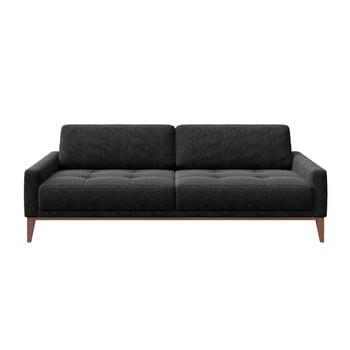 Canapea cu 3 locuri MESONICA Musso Tufted gri antracit