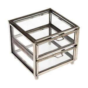 Stříbrný dvoupatrový box Rex London Forint
