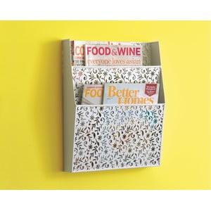 Nástěnný držák na magazíny Design Ideas Vinea