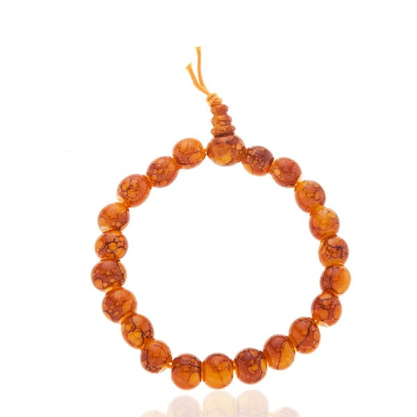 Oranžový dámský náramek NOMA Agnes