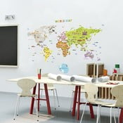 Autocolant Ambiance World Map