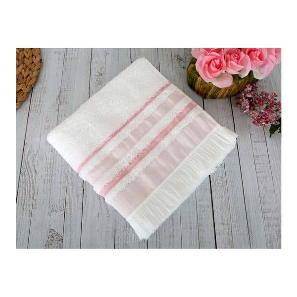 Růžová osuška Irya Home Spa, 70x130 cm