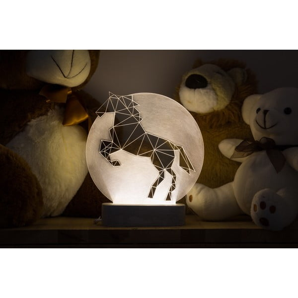 Náladové světlo Horse Full Moon