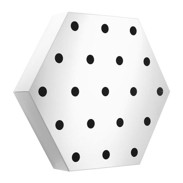 Stojan na víno Hexagon Maxi, bílý