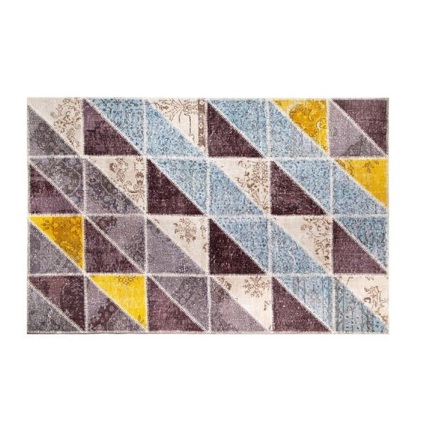Vlněný koberec Allmode Sivas Multi II, 180x120 cm