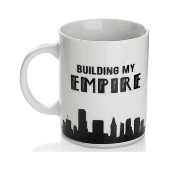 Cană din porțelan Sabichi Building My Empire, 325 ml de la Sabichi