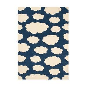 Dětský tmavě modrý koberec Zala Living Cloud, 140x200cm