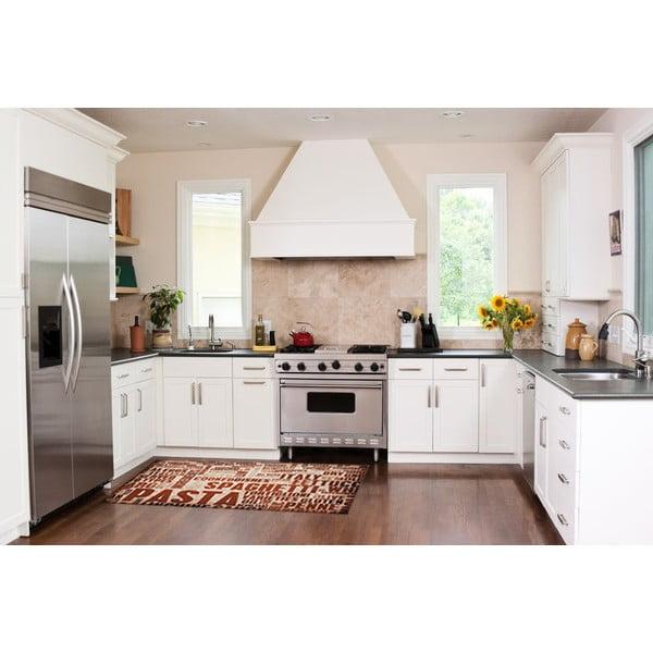 Vysoce odolný kuchyňský koberec Webtappeti Spaghetti,60x220cm