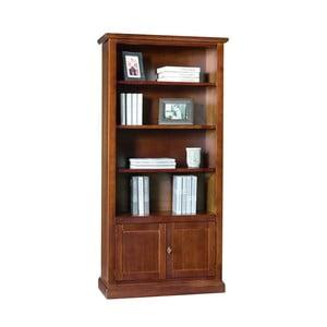 Bibliotecă din lemn cu 2 uși Castagnetti Legno