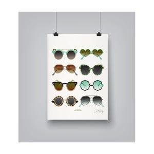 Poster Americanflat Sunglasses, 30 x 42 cm