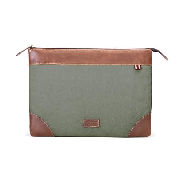 Pouzdro na laptop Avi-8, zelené