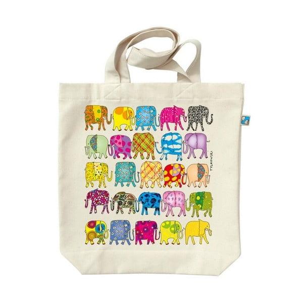 Plátěná taška Sloni