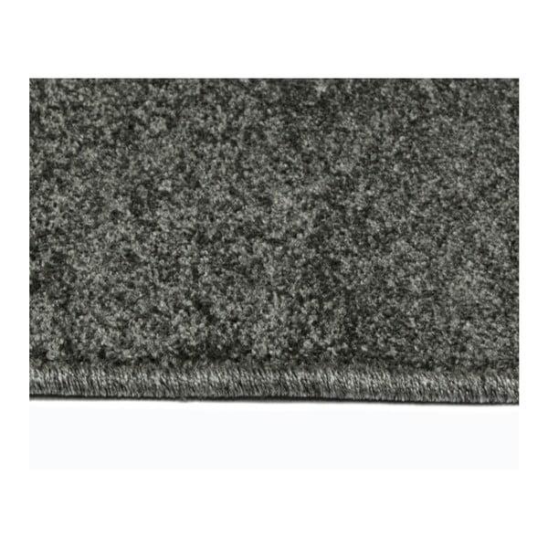 Šedý koberec Universal Veluro Gris, 57x110cm