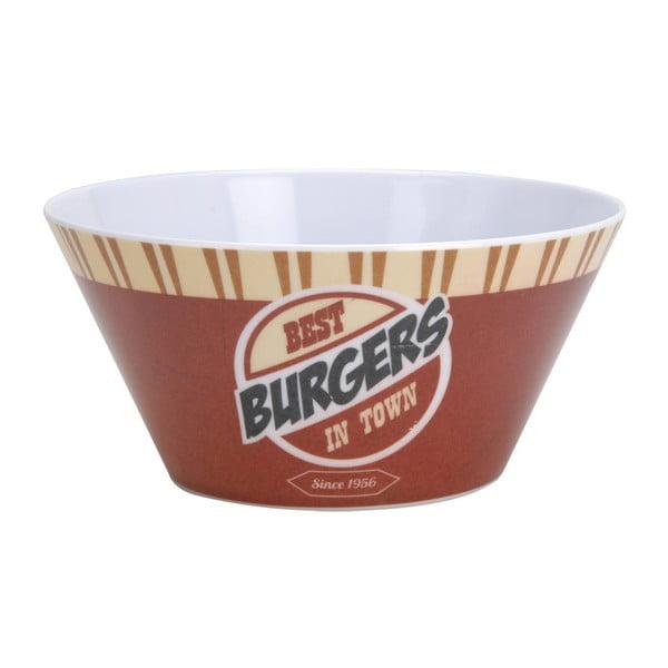 6dílná kempinková sada nádobí Postershop Best Burgers