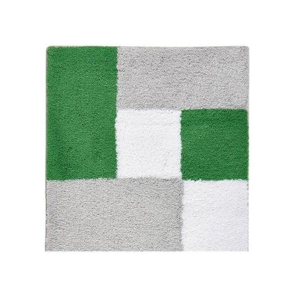 Koupelnová předložka Zamba Green, 60x60 cm