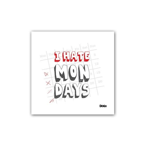 Polštář I Hate Mondays