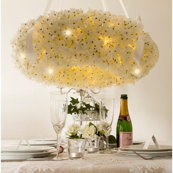 Svatební věnec s LED světly Hydrangea