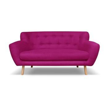 Canapea Cosmopolitan design London, 162 cm, roz închis imagine