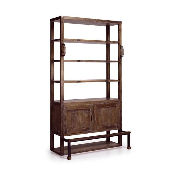 Knihovna ze dřeva mindi Moycor Industrial, 220 cm