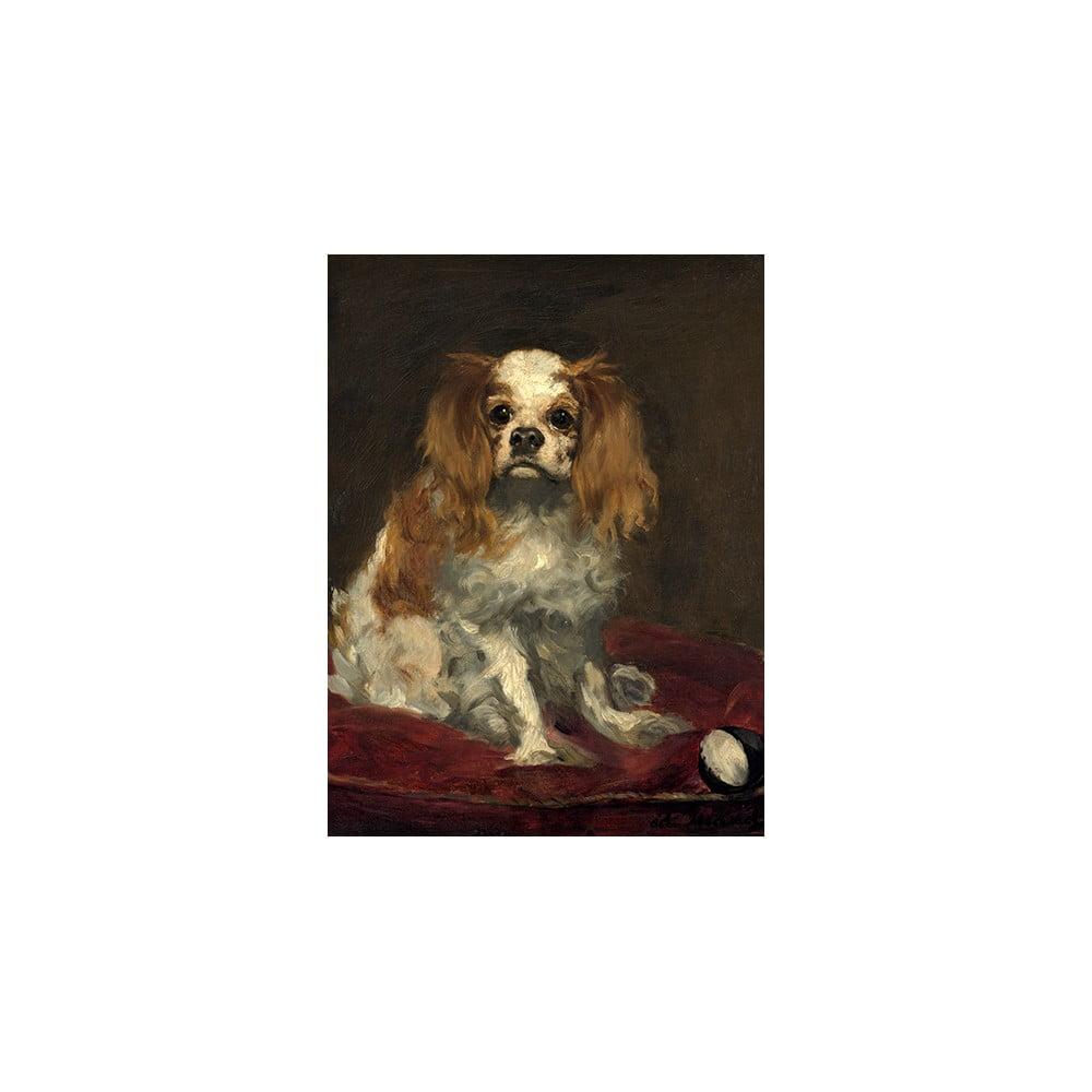 Reprodukce obrazu Édouard Manet - A King Charles Spaniel, 40 x 30 cm