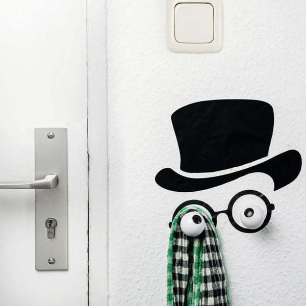 Cârlig decorativ și autocolant de perete Donkey Mister Hookly