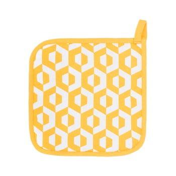 Set 2 șervete termice din bumbac Tiseco Home Studio Hexagon, galben imagine