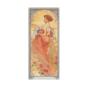 Obraz Mucha - Ete 1900, 19x43 cm