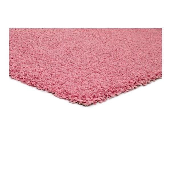 Růžový koberec vhodný i na ven Universal Catay, 57 x 110 cm