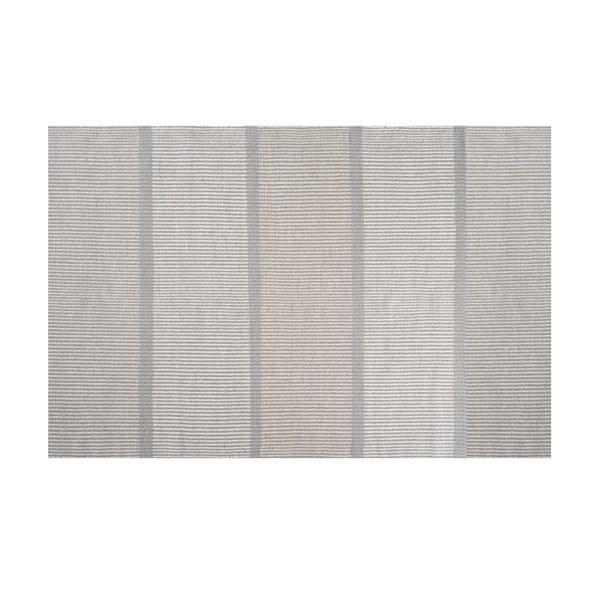 Vlněný koberec Millenium Light Grey, 140x200 cm
