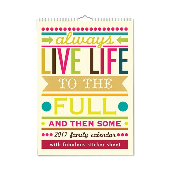 Rodinný kalendář Portico Designs Say So