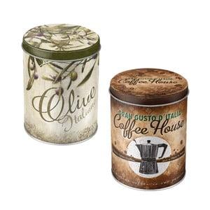 Sada dóz Olive a Coffee House