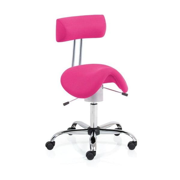 Kancelářské křeslo Ergo Flex, růžové