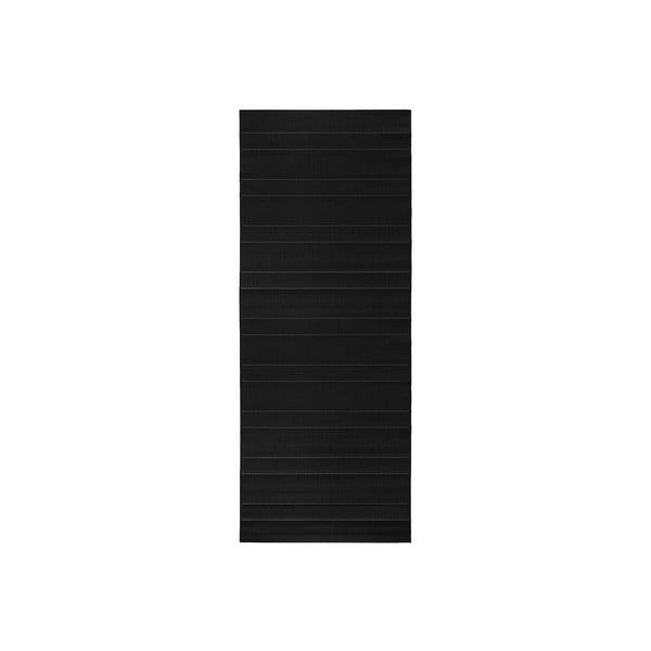 Koberec vhodný i na ven Sunshine 80x200 cm, černý