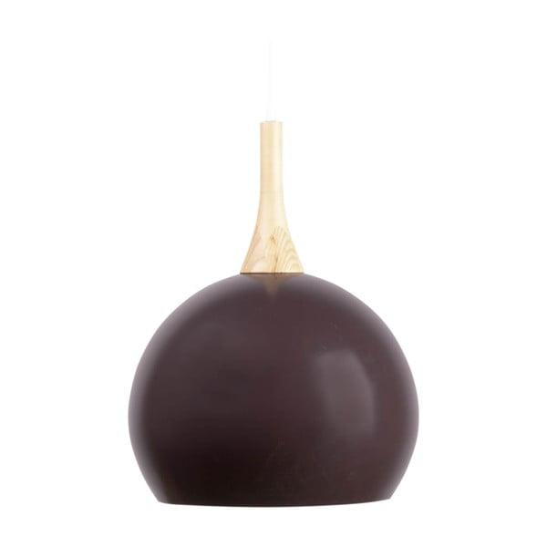 Černé závěsné svítidlo sømcasa Enova, ø 37cm