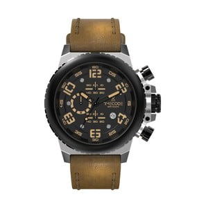 Pánské hodinky Everest 1953, Metallic/Brown/Black