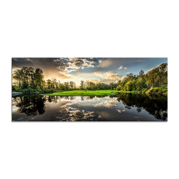 Tablou Styler Glasspik Nature, 50 x 125 cm