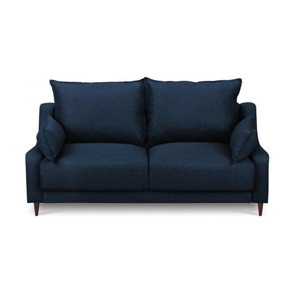 Modrá dvoumístná pohovka Mazzini Sofas Ancolie