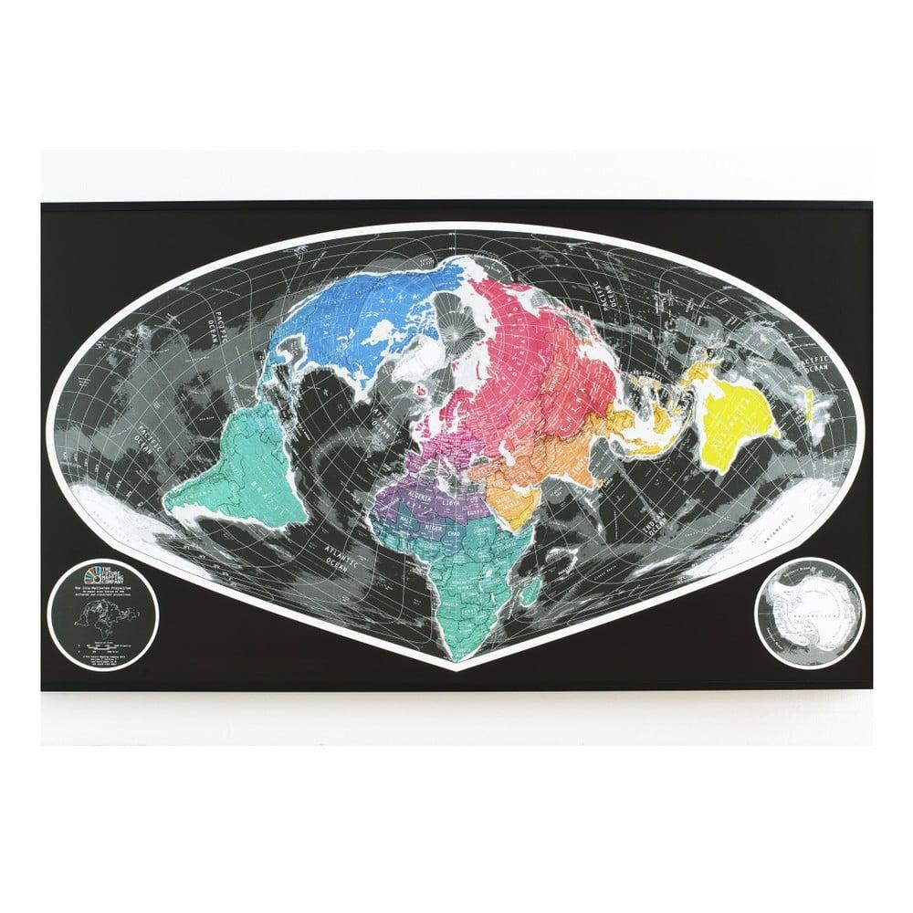 Širokoúhlá mapa The Future Mapping Company Future Map, 101 x 58 cm