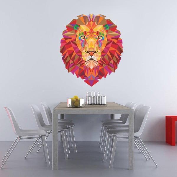 Samolepka na stěnu Lev, 60x90 cm