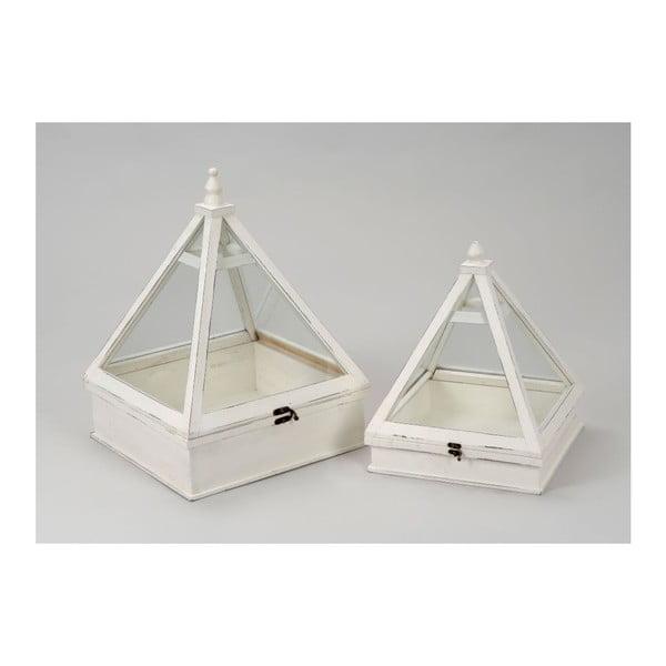 Miniskleník Pyramide (2 ks)