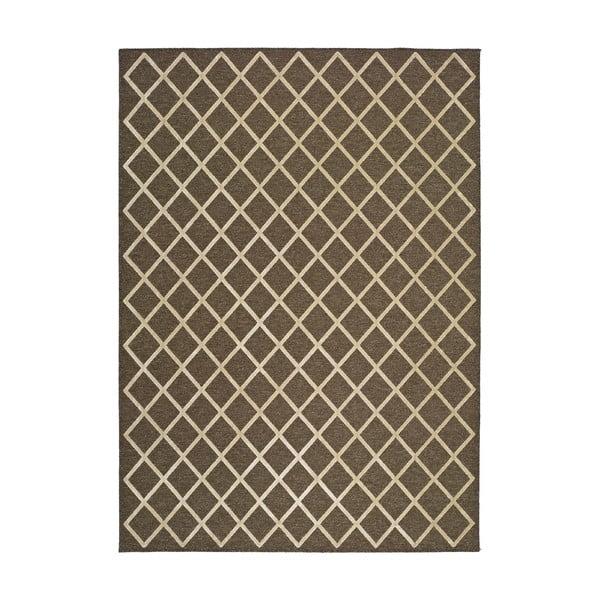 Isabella barna szőnyeg, 105x67 cm - Universal