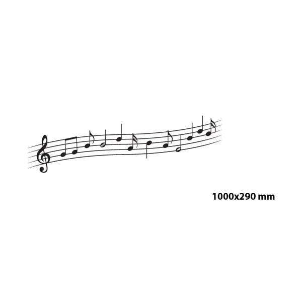 Samolepka Melodie, 100x29 cm